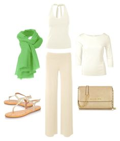 How to wear Spring whites by kettlewellcolours on Polyvore featuring Mode, Miss KG and Michael Kors