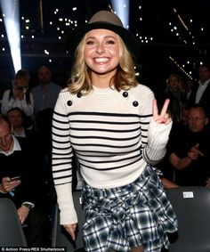 Doing great! Hayden Panettiere - who recently sought treatment for postpartum depression -...