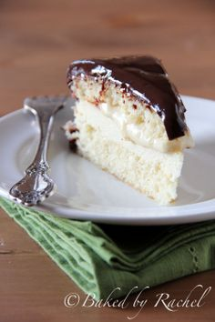Baked by Rachel » Boston Cream Pie Cheesecake » Print