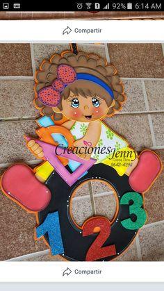 Foam Crafts, Diy Crafts, Class Door Decorations, Art Classroom Decor, Baby Couture, Art N Craft, Bottle Crafts, Book Activities, Diy And Crafts