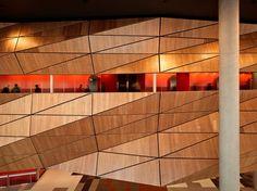 MELBOURNE CONVENTION & EXHIBITION CENTRE, AUSTRALIA, designed by Joint Venture Architects Woods Bagot & NHArchitecture for the Plenary Group consortium