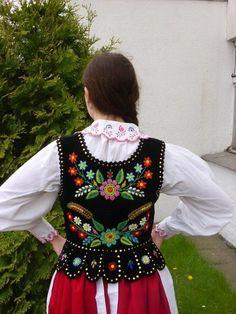 gorset krakowski | Polskie Stroje Ludowe - Rzeszowski costume