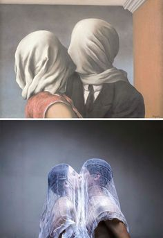 magritte photography recreated - Google Search