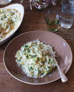 Baked Risotto with Fines Herbes and Lemon Recipe