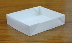 A4用紙で作るトレー&折り箱の写真