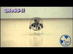 QRoSS, un robot circular que te sorprenderá - http://www.actualidadgadget.com/qross-un-robot-circular-que-te-sorprendera/