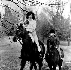 Jackie Kennedy, the quintessential equestrian