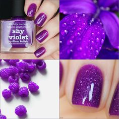 "Picture Polish ""Shy violet"""