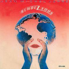 """Jean-Michel Jarre - Rendez-Vous (Vinyl 7"""") 1986 Portugal"""