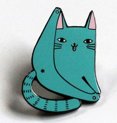 A pin that celebrates the cat butt. | 29 Purrrfect Pins For Cat Lovers