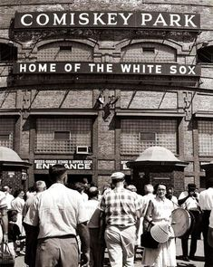 Comiskey Park, Home of the White Sox, 1940s (Chicago Pin of the Day, 3/6/2015).