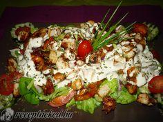 Érdekel a receptje? Kattints a képre! Hungarian Recipes, Hungarian Food, Light Recipes, Cobb Salad, Baked Potato, Cake Recipes, Bacon, Salads, Recipies