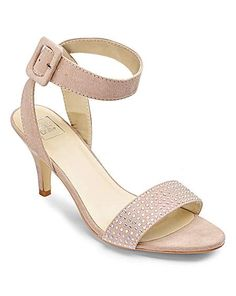5c80ded87 Sole Diva Diamante Sandal E Fit