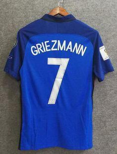 a1738eb0d 2018 Men France #7 Griezmann Jersey Home World Cup Jersey Player