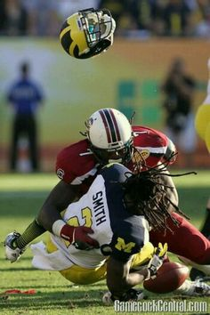 Why is 6 afraid of 7? Because 7 is Jadeveon Clowney.