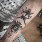 Amazing forearm work by Ash Timlin