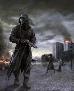 ArtStation - The Zombie Hunter, Patrick Reinemann Apocalypse Aesthetic, Apocalypse Art, Mad Max, Cthulhu, Fallout Posters, Sci Fi Genre, Apocalypse Character, Character Art, Character Design