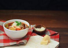 Schnell Bean & Chorizo Suppe :: Glutenfreie Rezepte