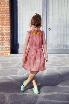 Judith dress: a free pattern for girls (1 – 10yo)! | Compagnie-M