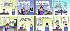Scott Adams nailed it. The Dilbert Strip for January 2013