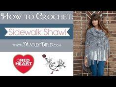 How to Crochet: Sidewalk Shawl | Red Heart