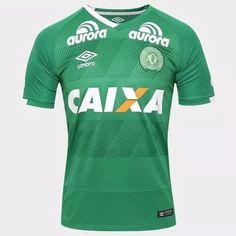 Camisa Chapecoense I 2016 s nº Torcedor Umbro Masculina - Compre Agora a29879c924734
