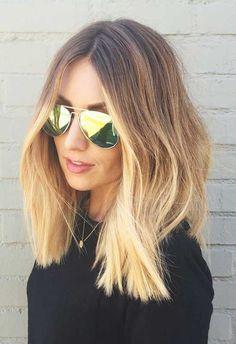 27.Medium Long Hair Style