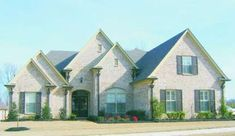 French Country Plan: 3,032 Square Feet, 4 Bedrooms, 2.5 Bathrooms - 041-00205 European Plan, European House, Floor Plan Drawing, French Country House Plans, Cost To Build, Construction Cost, Best House Plans, Build Your Dream Home, Second Floor