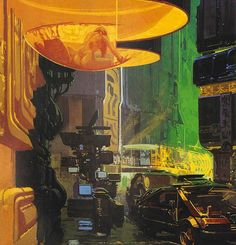Concept Designer Syd Mead's Blade Runner Collectibles Hit Auction Block | Underwire | WIRED