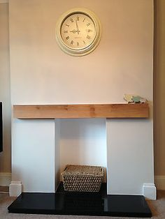 Fantastic Pics wooden Fireplace Mantels Ideas New Totally Free empty Fireplace Ideas Concepts Everyone loves a fireplace hence here are several f Empty Fireplace Ideas, Oak Beam Fireplace, Oak Mantle, Unused Fireplace, Wooden Mantel, Wooden Fireplace, Fireplace Shelves, Home Fireplace, Faux Fireplace