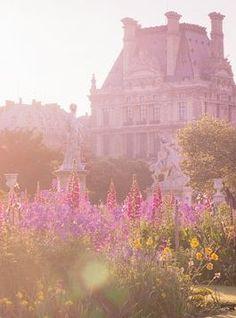 A beautiful sunrise in Paris.