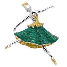 Van Cleef & Arpels 'Esmeralda', Ballet Précieux Collection, 2007