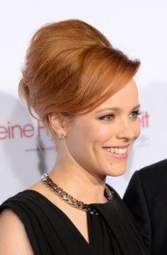 ginger hair beehive