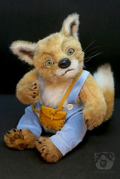 Reynard by Wayneston Bears #teddybear #realistic teddy bear #artist bear #bearartist #waynestonstudios #waynestonbears #fox