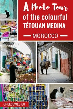 Photographing the Tetouan Medina, Morocco - The UNESCO-listed Tétouan Medina, in Morocco, offers great photography opportunities. We share our favourite photos from the colourful old town.