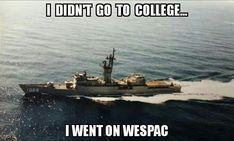 But on a real ship. Navy Day, Go Navy, Navy Girl, Navy Memes, Navy Humor, American Veterans, American Soldiers, Navy Enlistment, Veterans Memorial Day