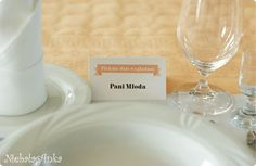 personalized place card