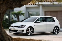 VW Golf GTI At the Volkswagen company, the letters \ Volkswagen Car Models, 2014 Volkswagen Gti, Golf 7 Gti, Gti Mk7, Car Goals, Sweet Cars, Dream Cars, Golf Tips, Geneva