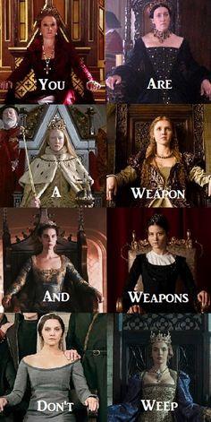 Weapons don't weep - #CatherinedeMedici #Reign #CatherineofAragon #TheTudors #Elizabeth_I #Elizabeth #LucreziaBorgia #Borgia #MaryQueenofScots #ChristinaofSweden #TheGirlKing #ContessinadeMedici #MediciMastersofFlorence #Medici #ElizabethofYork #TheWhitePrincess #Feminine_Aesthetic #Queen_Aesthetic