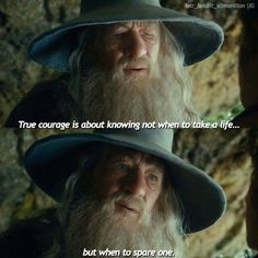 The Hobbit : An Unexpected Journey - Gandalf