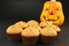 """Muffins zucca e noci- Nome d'arte: """"A sweet Nightmare before Halloween""""  Ritrova la ricetta qui: http://www.colazionedafrenca.com/ricette/muffins-alla-zucca-e-noci/"""