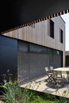 Villa b. à Caluire et Cuire par Tectoniques Architectes