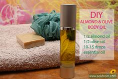 DIY body oil