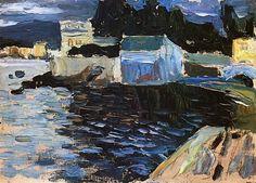 Sestri evening, 1905 Wassily Kandinsky
