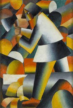 Malevich - Stedelijk Museum Amsterdam - very like ferdinand leger , definitely related to kandinsky Wassily Kandinsky, Abstract Portrait, Abstract Art, Geometric Painting, Kazimir Malevich, Avantgarde, Russian Avant Garde, Arte Pop, Oil Painting Reproductions