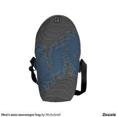 Men's mini messenger bag
