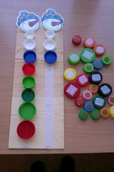 Caterpillar Color Patterns & Matching craftIdea org is part of Infant activities - Montessori Activities, Motor Activities, Winter Activities, Infant Activities, Activities For Kids, Crafts For Kids, Diy Crafts, Childhood Education, Kids Education