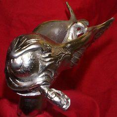 Hood Ornament Flying Eye Fink Hot Rat Rod Mascot Bad Eyeball | eBay