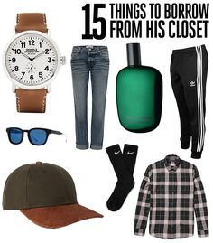 15 Things to Borrow From His Closet