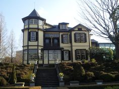 House of a diplomat in the Yamate Italian Garden in Motomachi mountain in Japan(元町 山手イタリア山庭園の外交官の家)